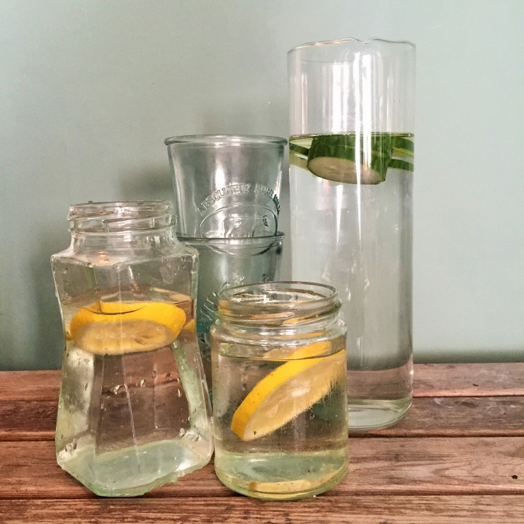 Bitossi Bloom Jug in clear