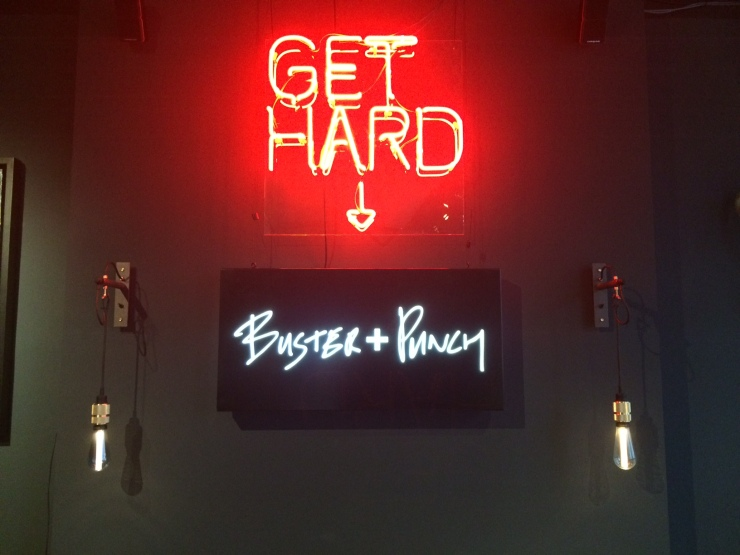 GET HARD by Buster + Punch