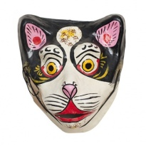 Black cat mask, £6