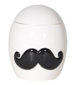 Moustache jar, £26