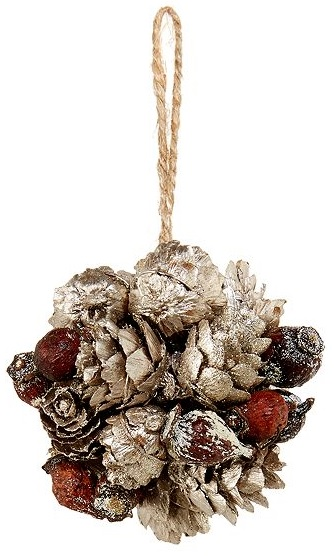 Pine cone decoration, £5.60