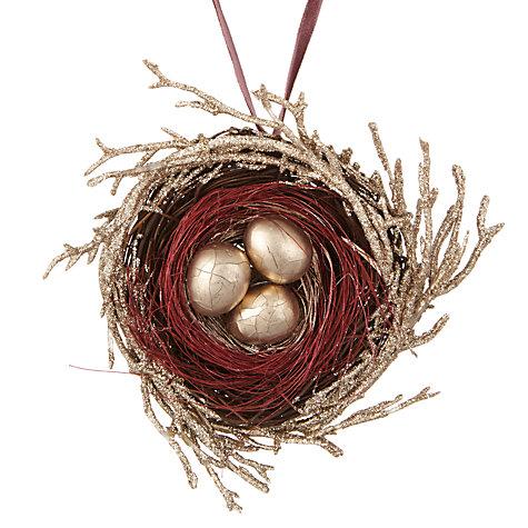 Gold nest, £3.50