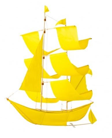 Sailing ship kite, £49