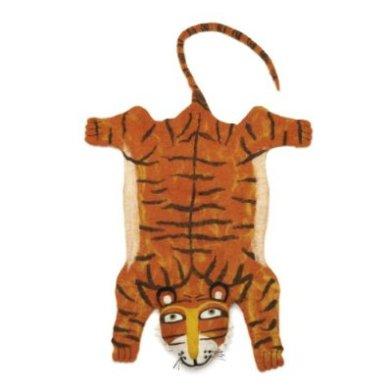 Tiger rug, £85