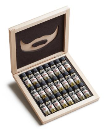 Beard oil gift box, £39.99