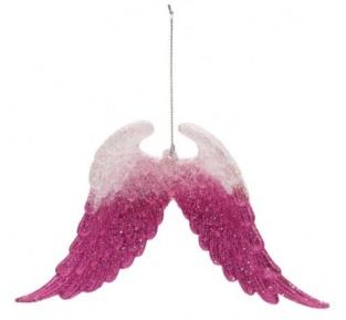 Pink glitter angel wings £2.50