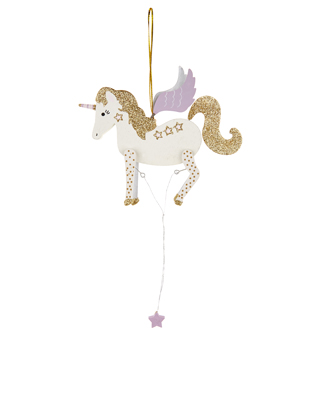 Wooden unicorn £5