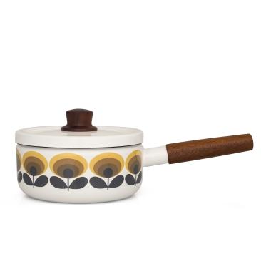 Unique & Unity Orla Kiely enamel saucepan £55