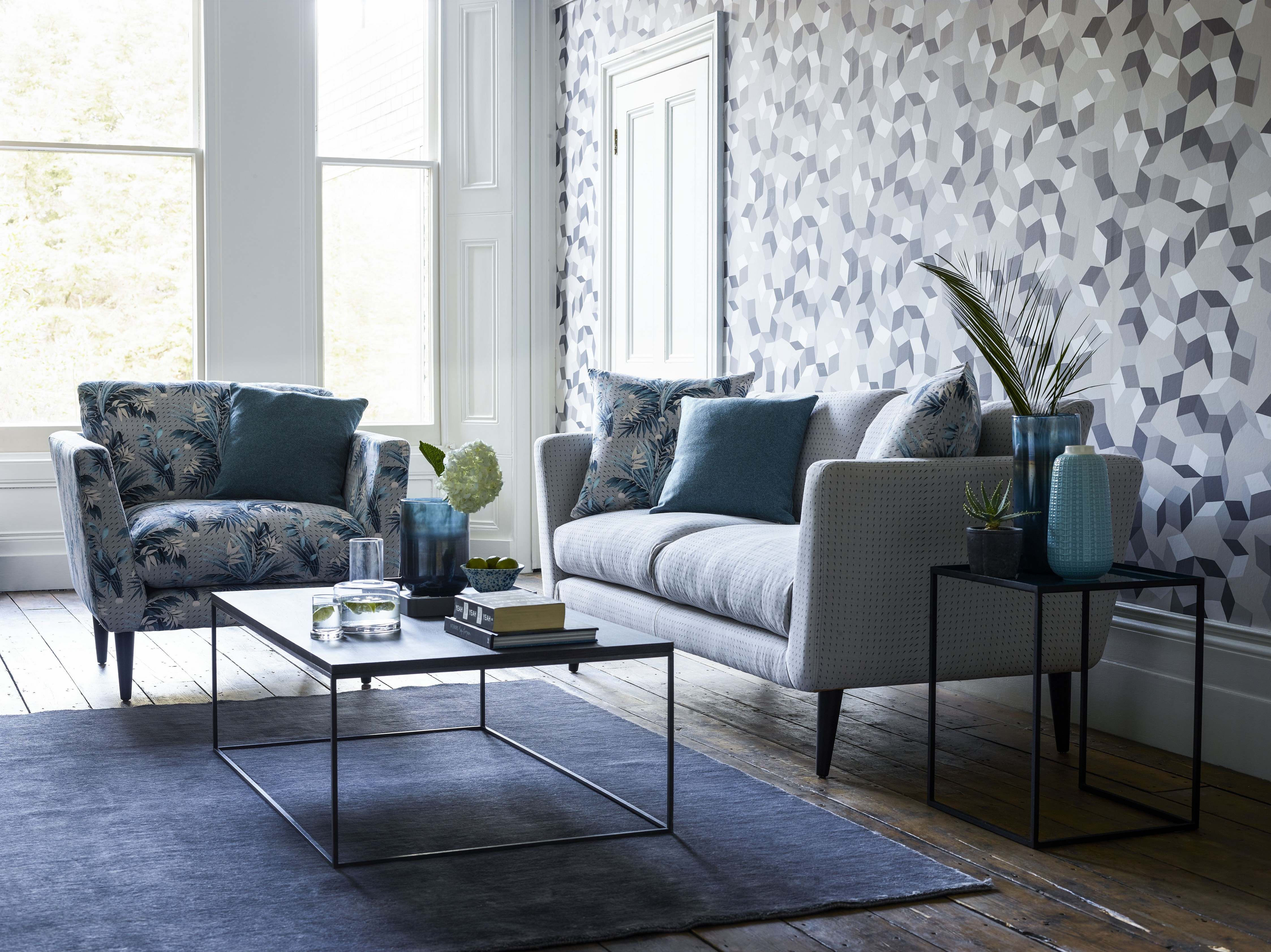 Exceptionnel Sofa.com Holly Armchair In Anna Glover Paradise Mineral, Holly Sofa In Anna  Glover Raindance (2)