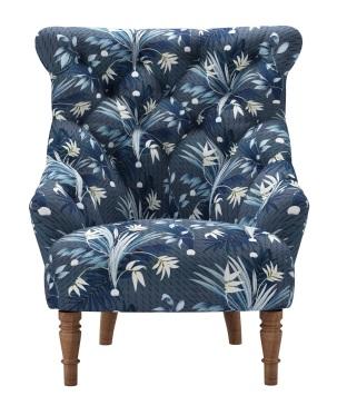 Sark armchair in Paradise Basalt