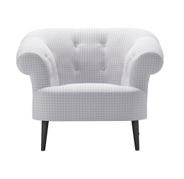 Zeppelin armchair in Raindance