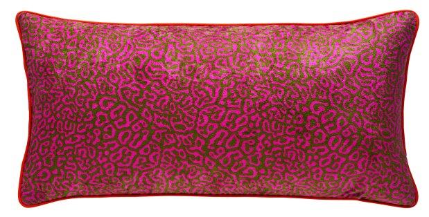 EMBARGO UNTIL 28.04.2016 - House of Holland x Habitat - Pufferfish reversible cushion 30x60cm - Side 1 - £35.00