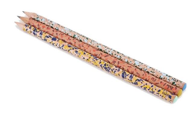 3. HAY Terrazzo pencil £2, Goodhood