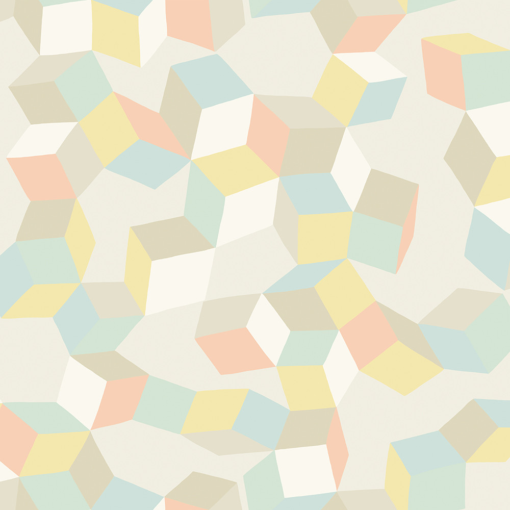 Pastel yellow wallpaper