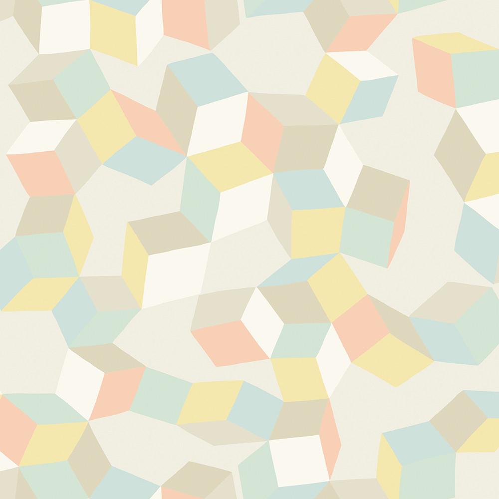 Puzzle Wallpaper Pale Pastel 105 2009 221549