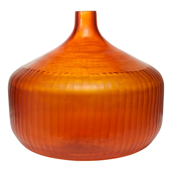 4. Orange glass vase, £59