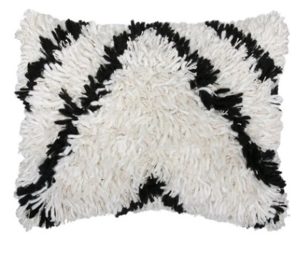 6. Black and white wool cushion, £55 - Rockett St George