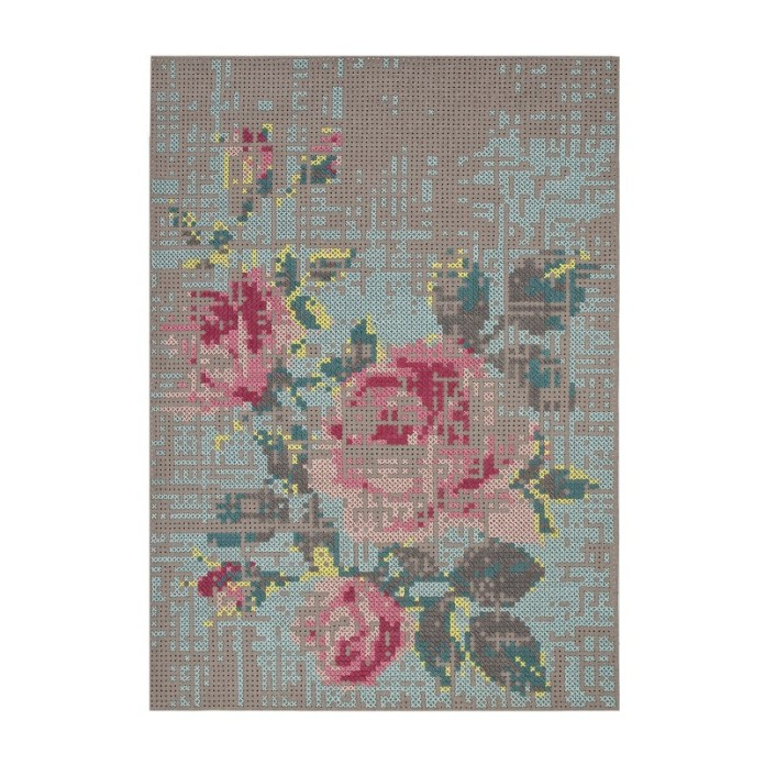 Canevas Flowers rug by Charlotte Lancelot for GAN