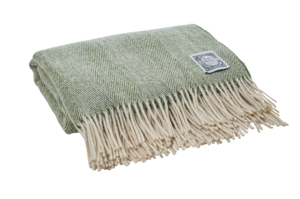 2. Essential Collection Village Green throw, £69 - Tolly McRae