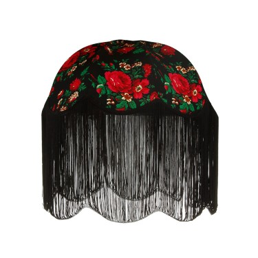 shallow-dome-lampshade-with-fringe-black-826338