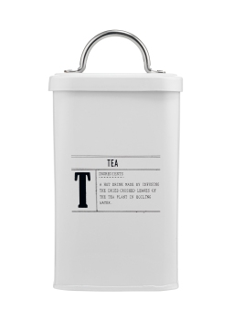 Restoration White Tea Tin, £5