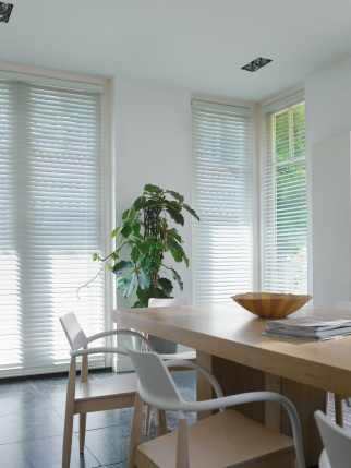 White-Wooden-Blinds-dining-Room