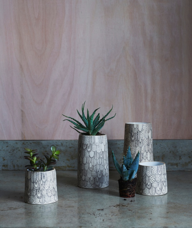 MUCK CERAMICS X ABIGAIL EDWARDS - Bird Vessels from £49 www.abigailedwards.comMUCK_CERAMICS_PLANTS_007