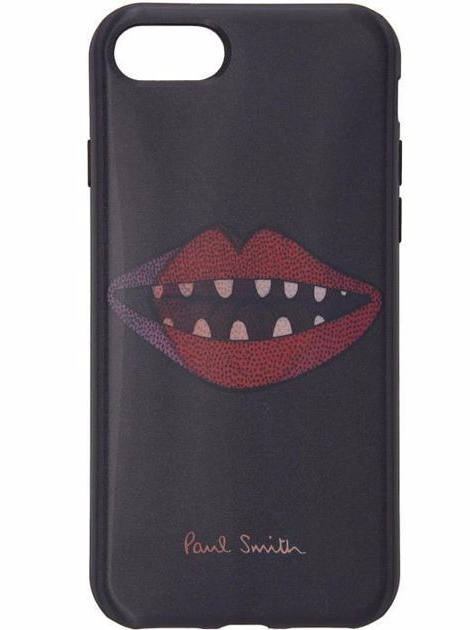 paul-smith-black-Black-Lips-Lenticular-Iphone-7-Case