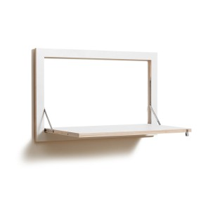Flapps Folding Wall Desk by Ambivalenz, £165 from Amara