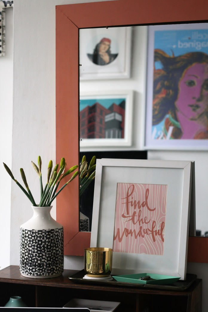 Surround your writing space with inspiring artwork