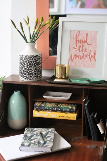 Decorate with accessories to spark inspiration