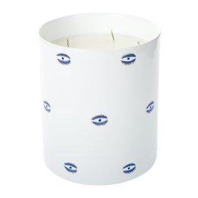 6. Evil Eye Porcelain Candle by Casa Carta, £175 from Amara
