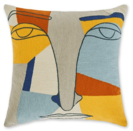 5. Abstract Face cushion, £25 from Made.com