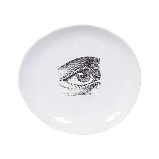 11. Handmade ceramic eye plate, £12 from Rockett St George