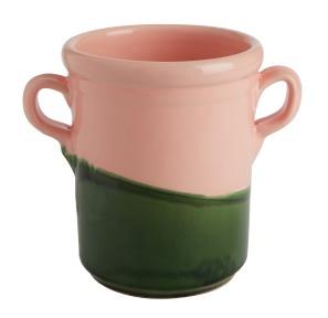 Serafina hand painted pink & green ceramic utensil pot - £20.00 - Jackson & Levine for Habitat - www.habitat.co.uk