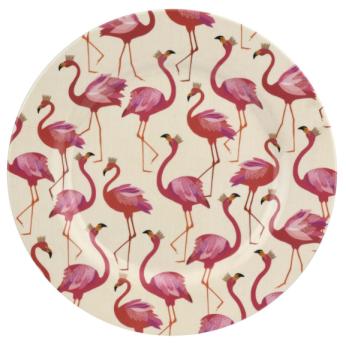 Portmeirion Sara Miller London Flamingo Collection melamine plate £34