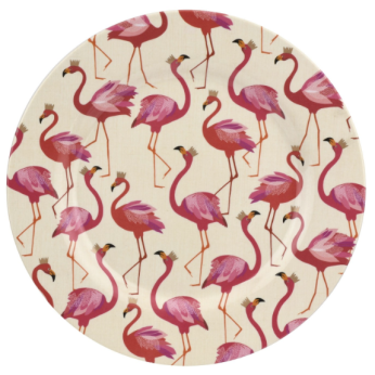 Portmeirion Sara Miller London Flamingo Collection melamine plate £34