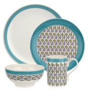 Portmeirion Westerly Turquoise 4 Piece Set £42