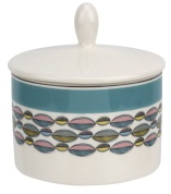 Portmeirion Westerly Turquoise Covered Sugar £20
